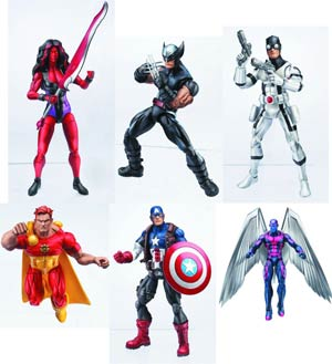 Marvel Legends 6-Inch Action Figure Assortment Case 201301