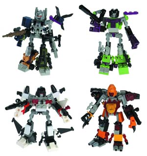 Transformers KRE-O Micro Changer Combiner Assortment Case