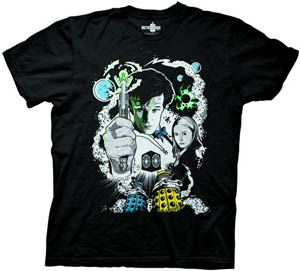 Doctor Who Comic With Amy Pond Previews Exclusive Black T-Shirt Large