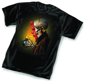 Hellblazer Light-Up By Simon Bisley T-Shirt Large