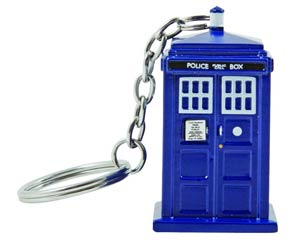 Doctor Who 3D Molded Keychain Torch - TARDIS