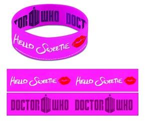 Doctor Who Wristband - Hello Sweetie