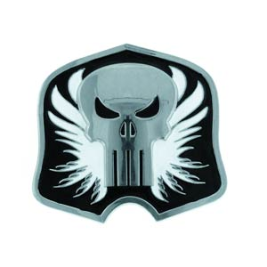 Marvel Heroes Belt Buckle - Punisher Silver/Black Shield