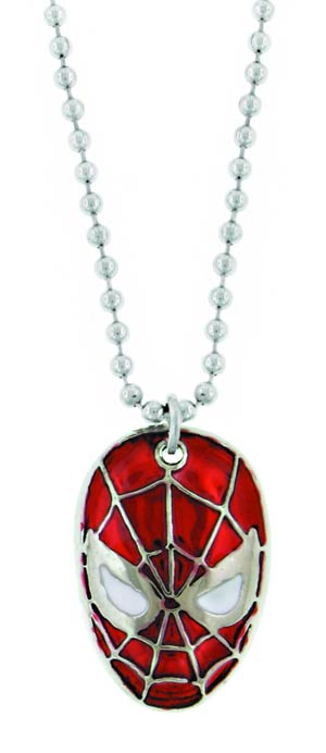 Marvel Heroes Necklace - Spider-Man Face
