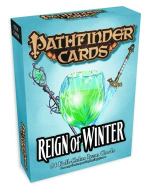 Pathfinder Item Cards Reign Of Winter Adventure Path