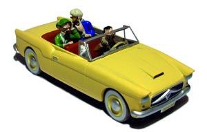 Tintin Transports - En Voiture Bordure #16