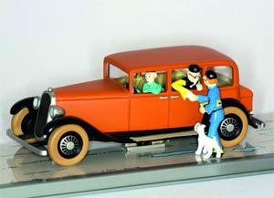 Tintin Transports - Mr Wang Chen-Yees Voiture De #2