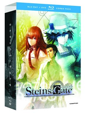 SteinsGate Complete Series Part 1 Blu-ray Combo DVD