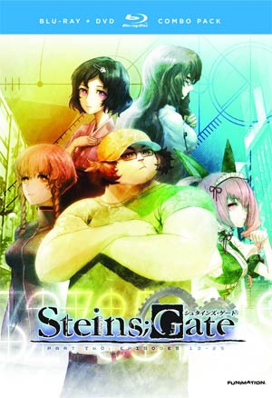SteinsGate Complete Series Part 2 Blu-ray Combo DVD