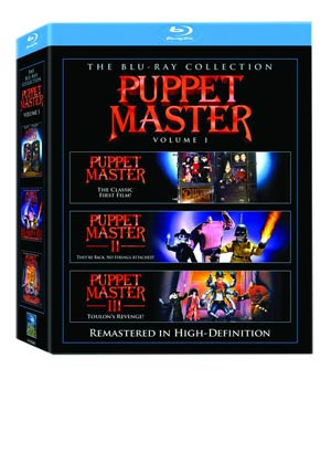 Puppet Master I-III Blu-ray DVD Box Set