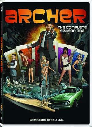 Archer Season 1 Blu-ray DVD