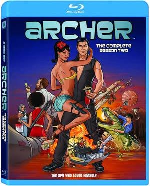 Archer Season 2 Blu-ray DVD
