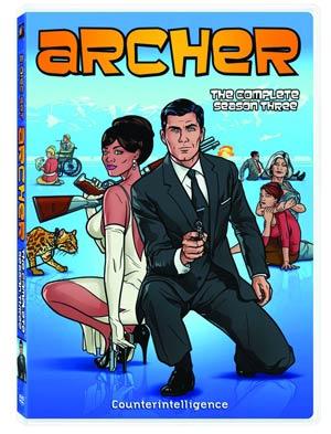 Archer Season 3 DVD