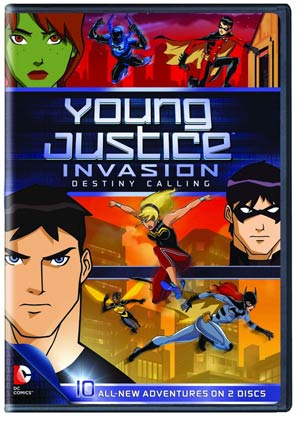Young Justice Season 2 Part 1 Invasion Destiny Calling DVD