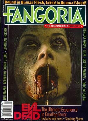 Fangoria #322 Apr 2013