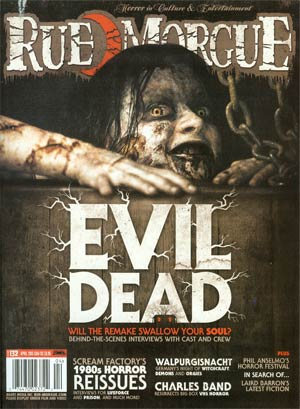 Rue Morgue Magazine #132 Apr 2013
