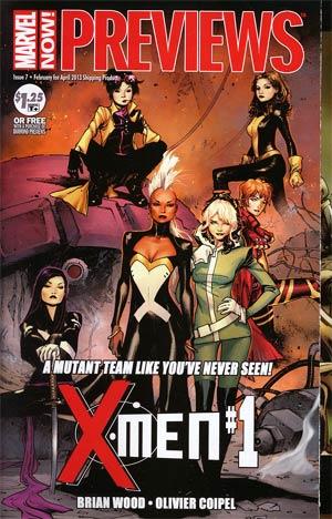 Marvel Previews Vol 2 #7 Febuary 2013