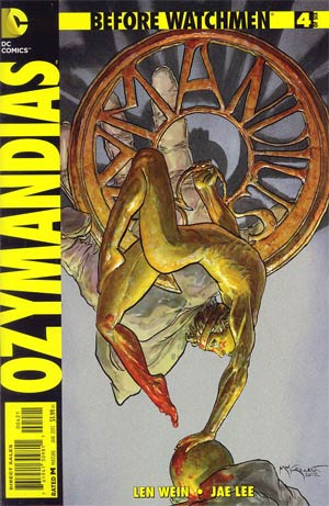 Before Watchmen Ozymandias #4 Incentive Michael William Kaluta Variant Cover