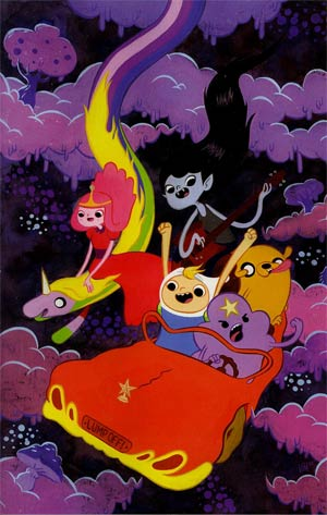 Adventure Time #10 Cover D Incentive Victoria Maderna Virgin Variant Cover