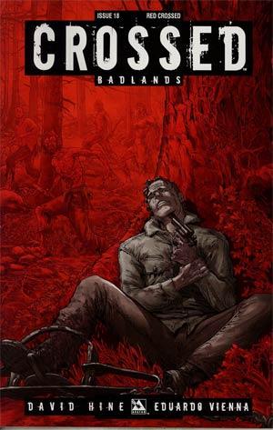 Crossed Badlands #18 Incentive Red Crossed Edition