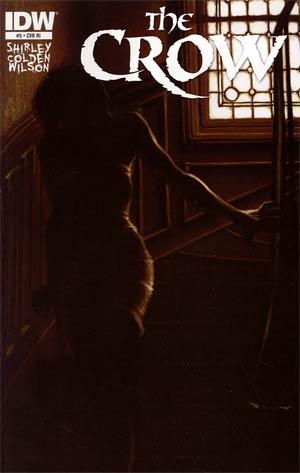 Crow Vol 4 #5 Incentive James O Barr Variant Cover