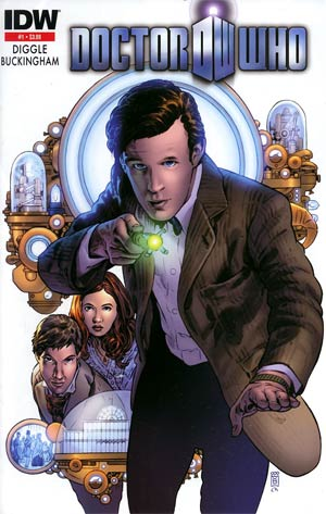 Doctor Who Vol 5 #1 Cover E 2nd Ptg