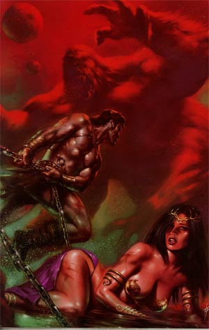 Warlord Of Mars #22 Incentive Lucio Parrillo Virgin Cover