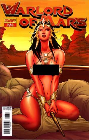 Warlord Of Mars #22 Incentive Jose Malaga Risque Art Variant Cover
