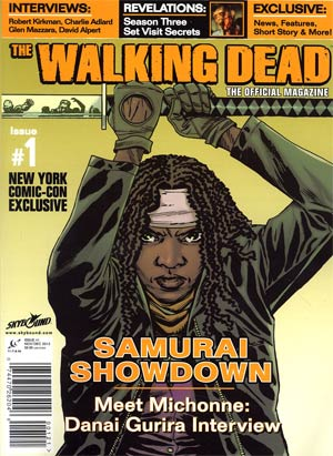 Walking Dead The Official Magazine #1 NYCC Exclusive Cover