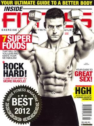 Inside Fitness Magazine #6 Dec 2012 / Jan 2013