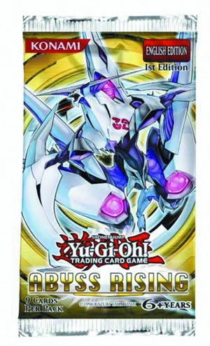 Yu-Gi-Oh Abyss Rising Booster Pack