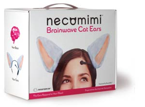 Necomimi Head Set With Free Pair Of White Ears