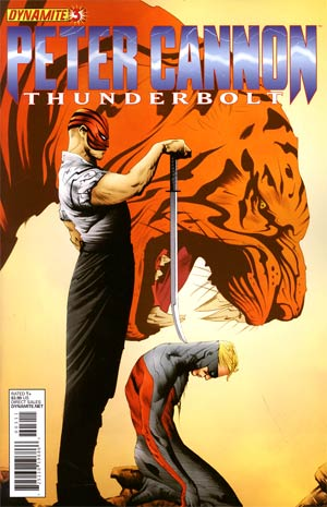 Peter Cannon Thunderbolt Vol 2 #3 Regular Jae Lee Cover