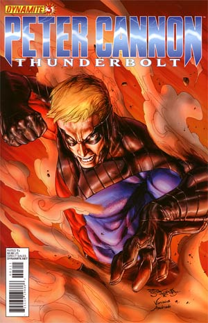 Peter Cannon Thunderbolt Vol 2 #3 Regular Stephen Segovia Cover
