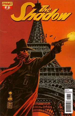 Shadow Vol 5 #8 Regular Francesco Francavilla Cover