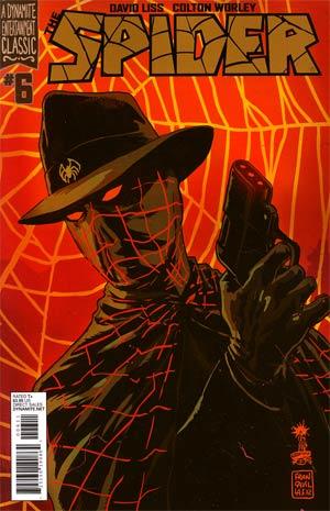 Spider #6 Regular Francesco Francavilla Cover