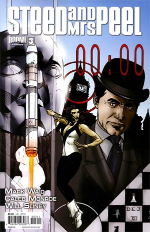 Steed And Mrs Peel Vol 2 #3 Regular Cover A Drew Johnson