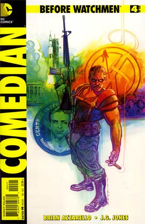Before Watchmen Comedian #4 Incentive Brian Stelfreeze Variant Cover