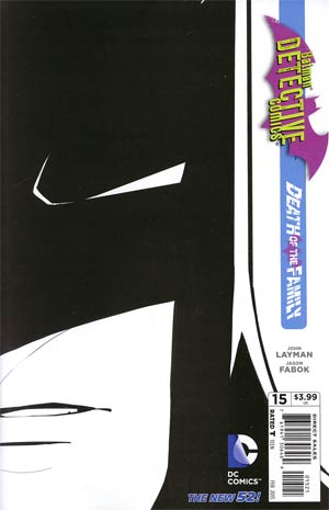 Detective Comics Vol 2 #15 Incentive Jason Fabok Sketch Cover (Death Of The Family Tie-In)