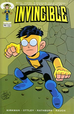 Invincible #98 Cover B Variant Chris Giarrusso Cover