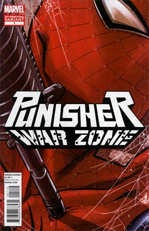 Punisher War Zone Vol 3 #1 2nd Ptg Marco Checchetto Variant Cover