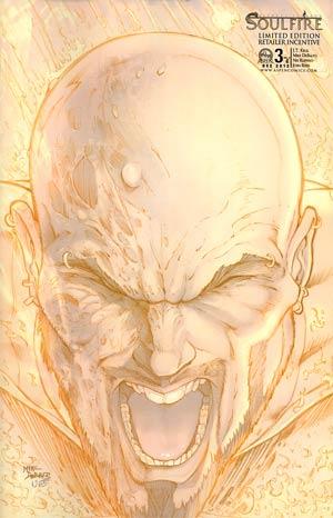 Soulfire Vol 4 #3 Cover C Mike DeBalfo Sketch Cover