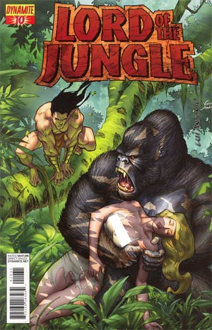 Lord Of The Jungle #10 Incentive Lui Antonio Tattered & Torn Risque Variant Cover