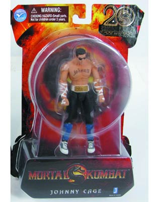 Mortal Kombat 9 Johnny Cage 4-Inch Action Figure