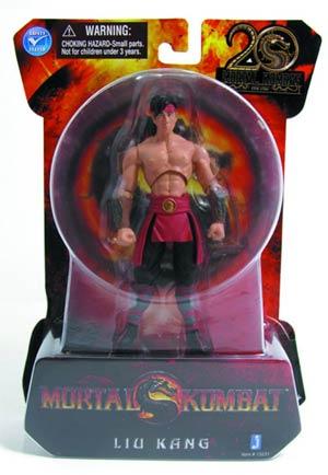 Mortal Kombat 9 Liu Kang 4-Inch Action Figure