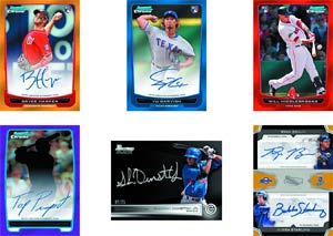 Bowman 2012 Draft Picks & Prospects Baseball Trading Cards Pack