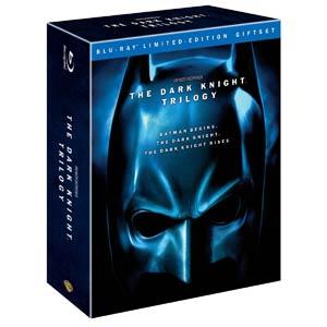 Batman Dark Knight Trilogy Blu-ray DVD