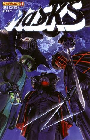 Masks #1 Regular Alex Ross Cover