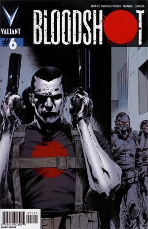 Bloodshot Vol 3 #6 Incentive Trevor Hairsine Variant Cover