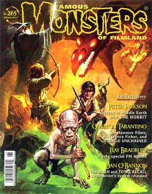 DO NOT USE (DUPLICATE LISTING) Famous Monsters Of Filmland #265 Jan / Feb 2013 Newsstand Edition